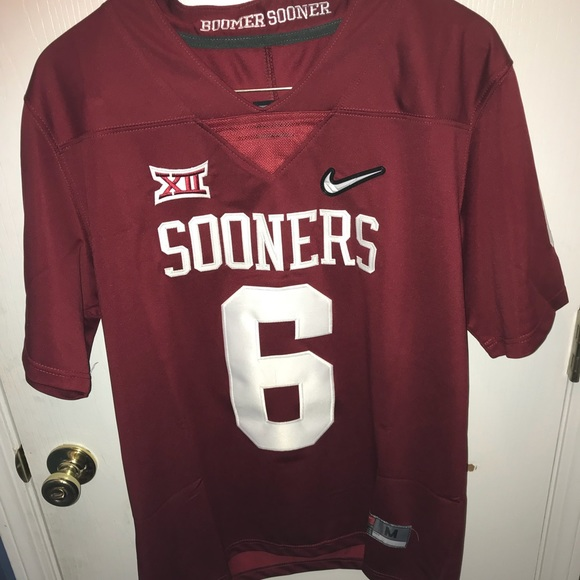 cheap for discount 63e29 f73c8 Oklahoma Sooners Baker MayField #6 Sz:M